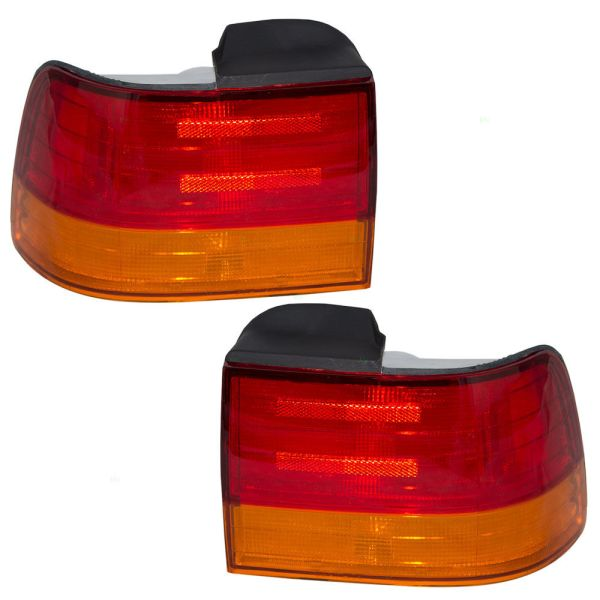 Fleetwood American Tradition Lower Replacement Tail Lights Unit Pair (Left & Right)