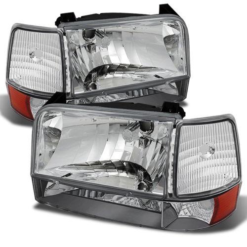 Damon Ultrasport (Class A) Diamond Clear Headlights