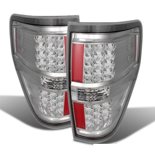 Tiffin Zephyr Chrome LED Tail Light Unit Pair (Left & Right)
