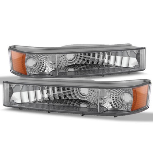 Fleetwood Bounder (GAS Type) Diamond Clear Turn Signal Lights Lamps (Left & Right)