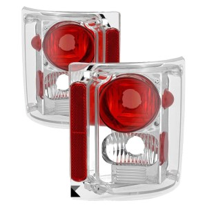 Holiday Rambler Admiral Performance Chrome Tail Light Lens & Housing Pair (Left & Right)