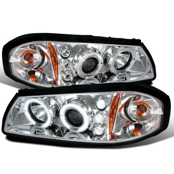 Winnebago Adventurer Chrome Projector Headlights Unit Pair (Left & Right)
