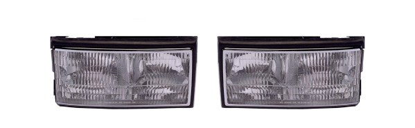 Fleetwood American Eagle Headlight Assembly Pair (Left & Right)