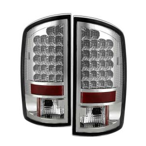 Holiday Rambler Imperial LED Chrome Tail Light Assembly Pair (Left & Right)