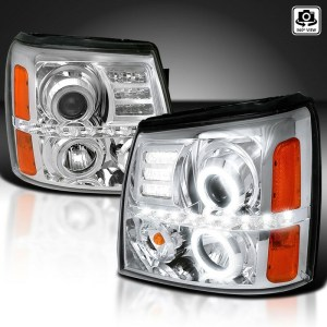 Holiday Rambler Navigator Chrome Projector LED  Assembly Pair (Left & Right)