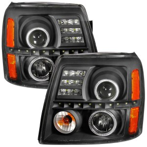 Damon Challenger Black Projector LED  Assembly Pair (Left & Right)