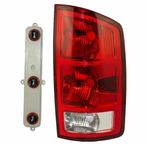 Country Coach Allure Right (Passenger) Replacement Tail Light Unit & Connector Plate