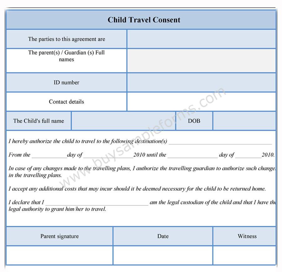 dot physical forms to download consent release form template – Travel Consent Form Template