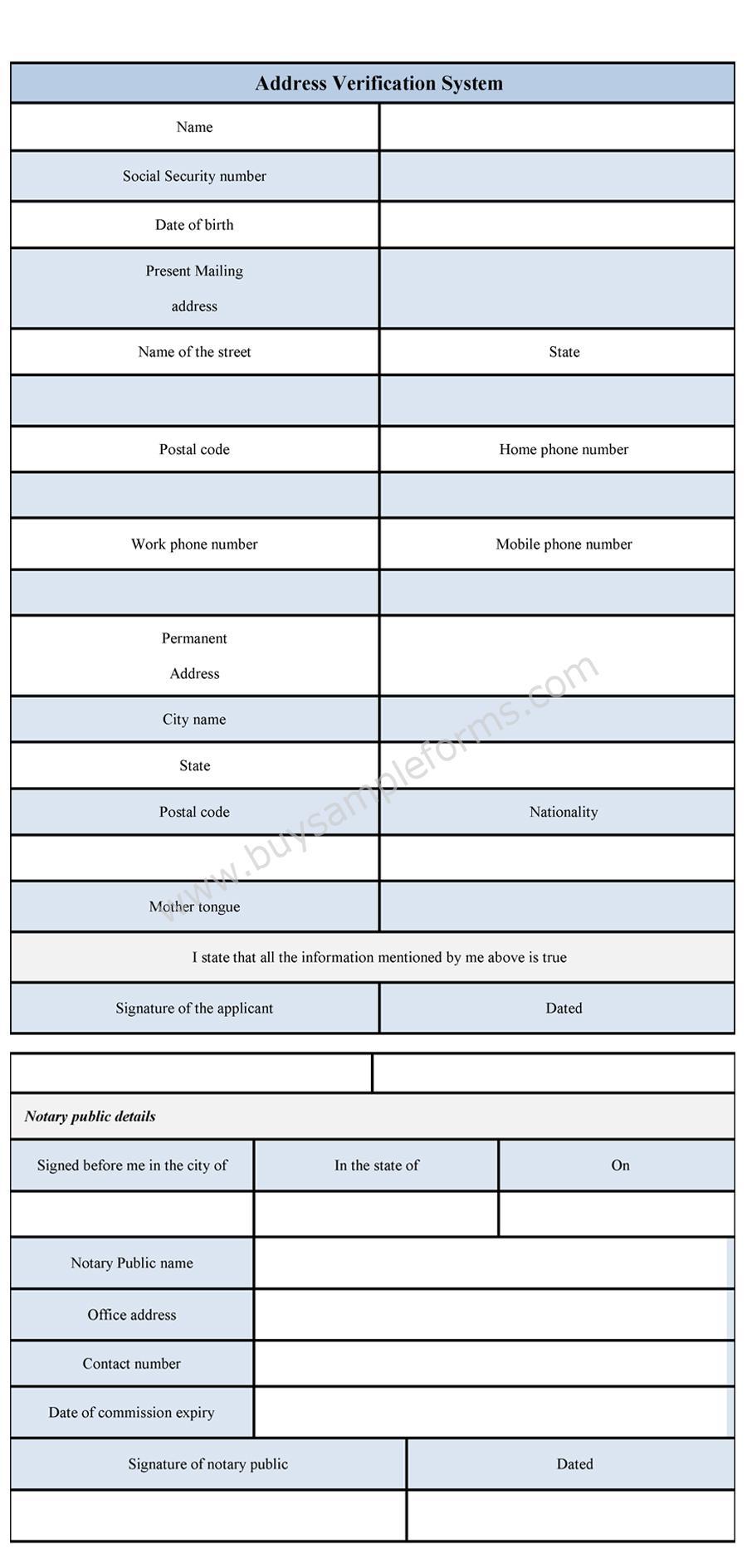 envelope address template sample free download address change – Change of Address Form Template