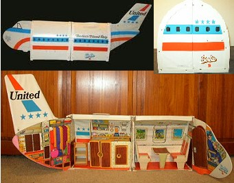 Barbie's Friend Ship - Plane & Accessories