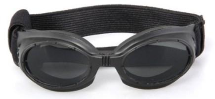 Black Framed Pet Puppy Dog UV Protection Doggles Goggles Sunglasses Eyewear