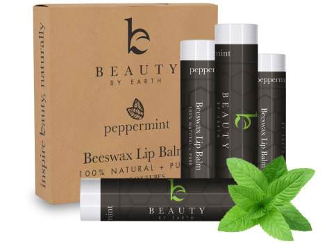 LIP BALM Peppermint Pack (4 tubes)