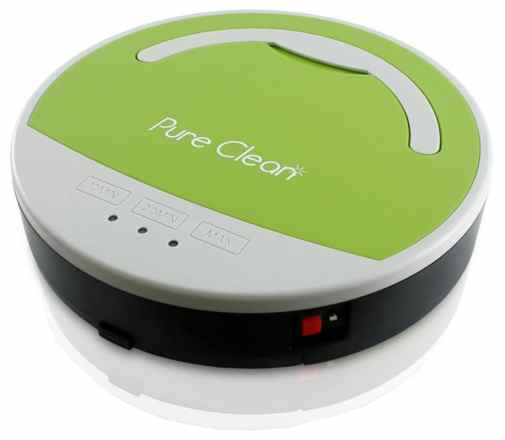 Pure Clean PUCRC15 - Automatic Vacuum Robot Floor Cleaner for Hardwood Flooring and Hard Carpets
