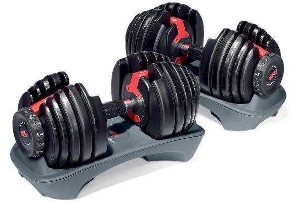 Bowflex SelectTech 552 Adjustable Dumbbells (Pair)