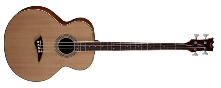 Roll over image to zoom in Dean EAB Acoustic-Electric Bass Guitar - Natural