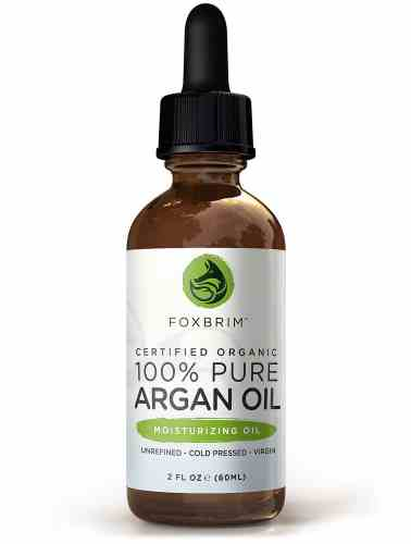 BEST ORGANIC Argan Oil for Hair, Face, Skin and Nails - 100% Pure Certified Organic Argan Oil