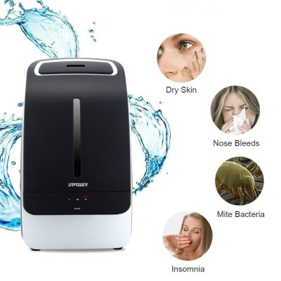 URPOWER 5L Whisper-quiet Cool Mist Ultrasonic Humidifier