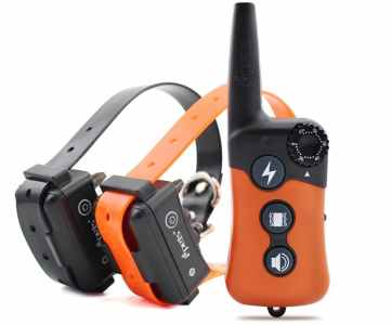 Ipets PET619-2 330 Yards Remote Rechargeable & Waterproof Dog Electric Training Collar