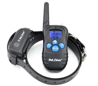 Petrainer PET998DBB 330 Yards Remote Dog Training E-collar with Beep / Vibration / Shock Electric
