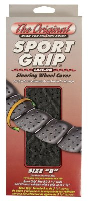 Superior 58-0550B Sport Grip Steering Wheel Cover