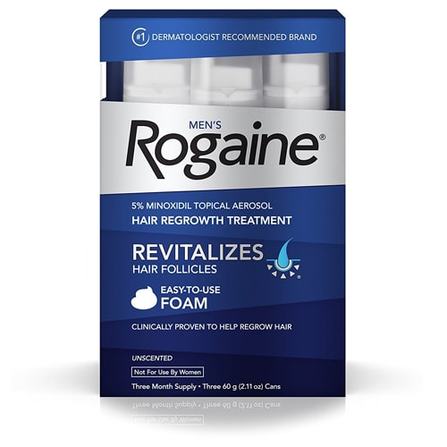 Recommended Hair Loss Treatment Foam For Men