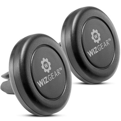 WizGear Universal Air Vent 2 Pack Magnetic Car Mount Phone Holder