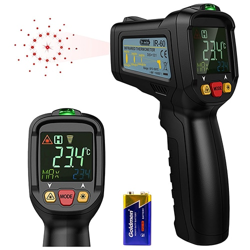 [Infrared Thermometer] Dr.meter Non-Contact Laser Thermometer