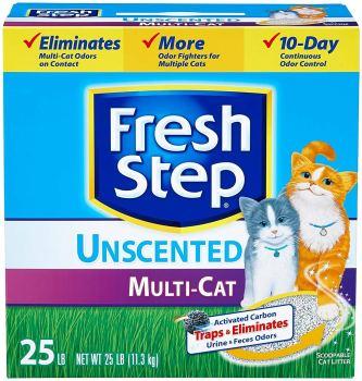 Fresh Step Multi-Cat Litter