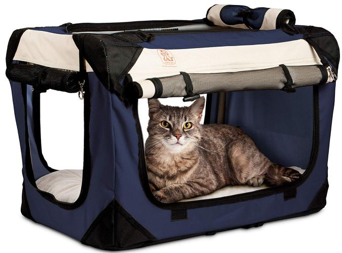 "PetLuv Soothing ""Happy Pet"" Premium Soft-Sided Pet Carrier"