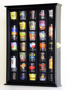 SF Display Shot Glass Display Case