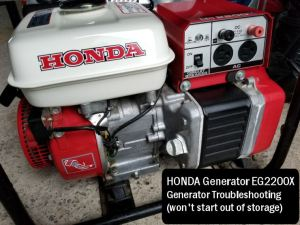 Generator will not start troubleshooting | Honda Generator