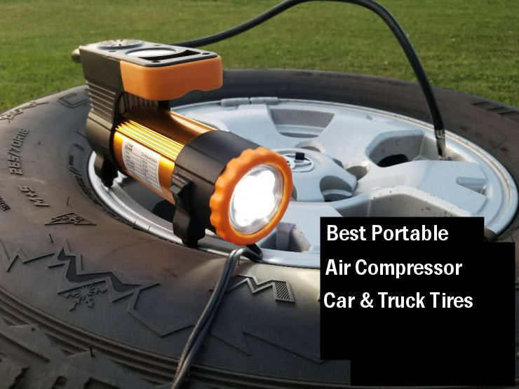 Best portable air compressor for truck tires image