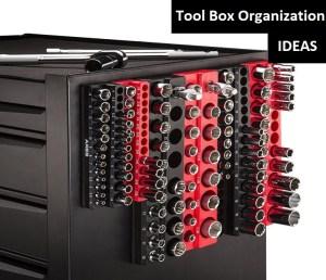 toolbox organization system magnetic socket holder ideas