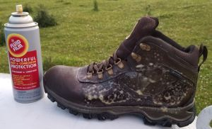 Fluid Film on Leather Boots? Results