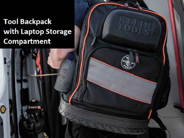 Tool Backpack with laptop storage compartment image