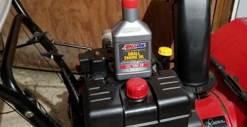 Amsoil 10w-30 Synthetic Oil in a Snowblower.  Which Oil is Best?