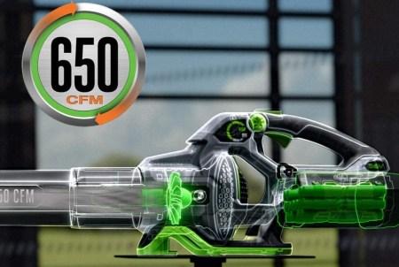 EGO LB6504 battery powered leaf blower performance