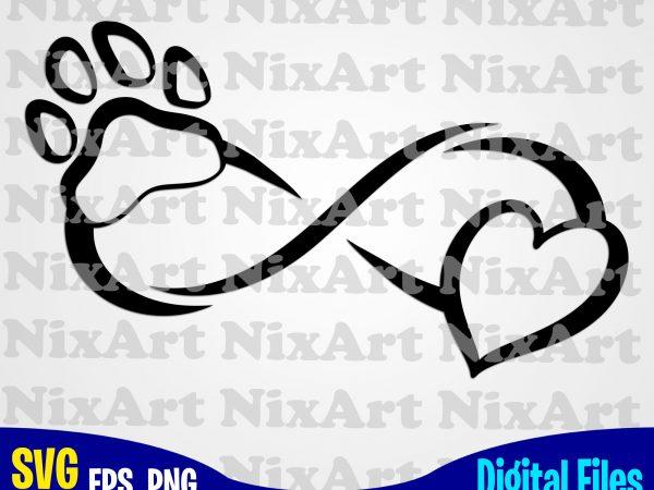 Download Infinity sign, Dog, Dog, Dog lover, Funny animal design ...