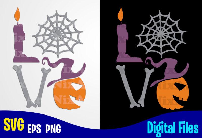 Download Love Halloween, Pumpkin svg, Halloween, Halloween svg ...