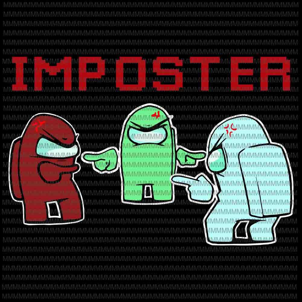 Download Among us vector, among us svg, impostor vector, impostor ...