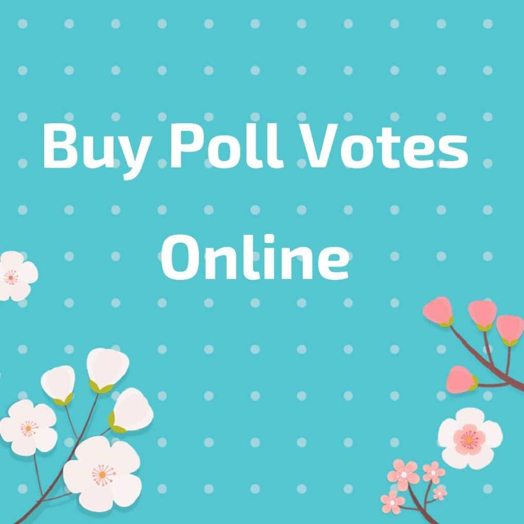 buy poll votes