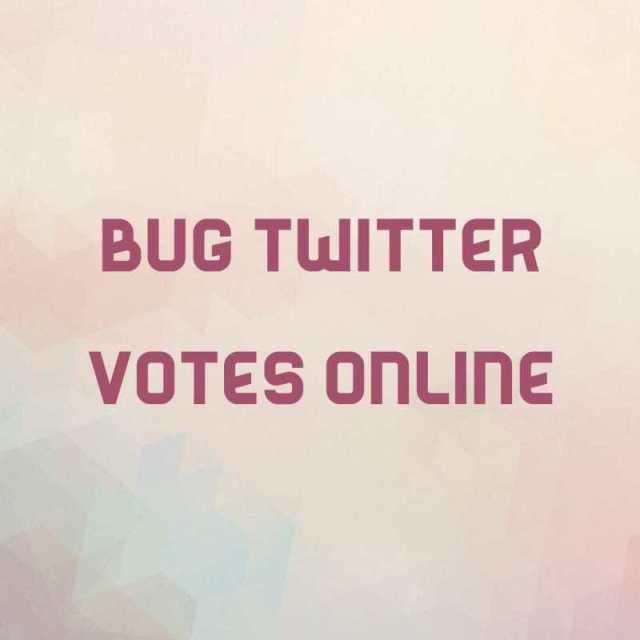 get twitter votes