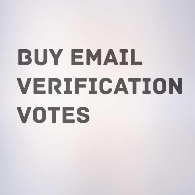 get more email verification votes