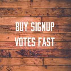 buy signup votes fast