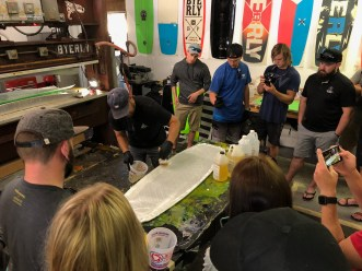 Building a wakeboard from scratch