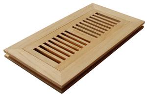 floor registers, wood floor registers, air registers, wood registers