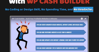 WP Cash Builder Review – Easy Way to Build WP Website for Various Purposes