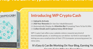 WP Crypto Cash Review – WP Software Gives You Crypto Coins
