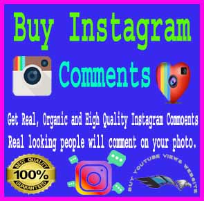 Buy Instagram comments $1