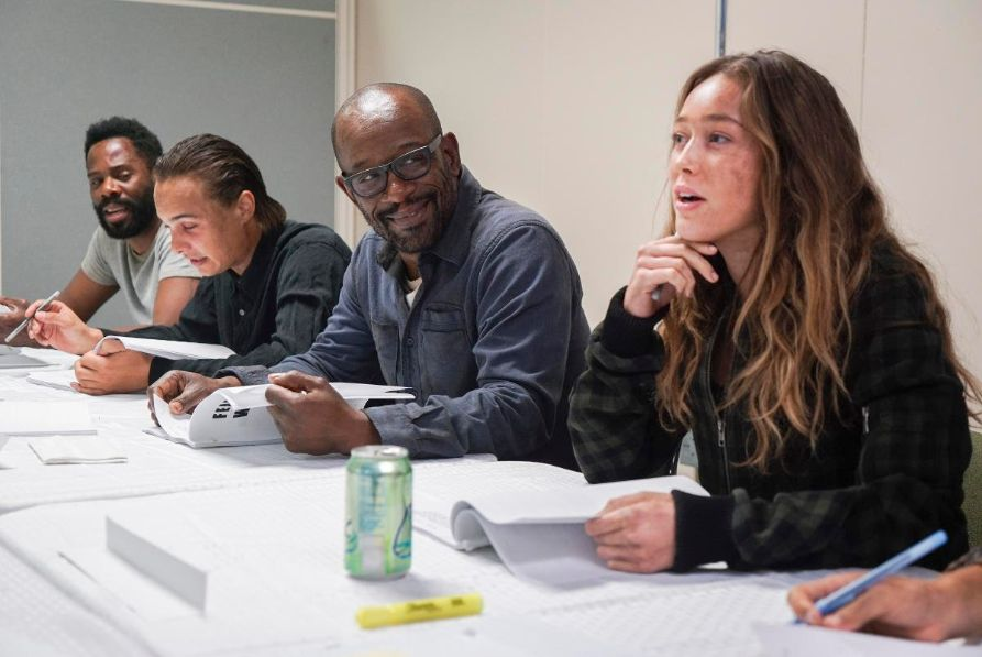 First Shots of Lennie James On Set for 'Fear The Walking Dead!'